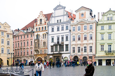 Buildings in Old Town, Prague