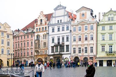 Buildings in Old Town, Prague