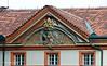 Details on a building at Prague Castle