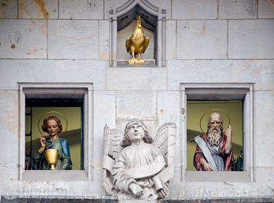 Saints, on the hour