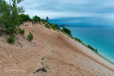 Sleeping Bear Dunes on Lake Michigan