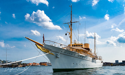 HDMY Dannebrog, the Royal Yacht