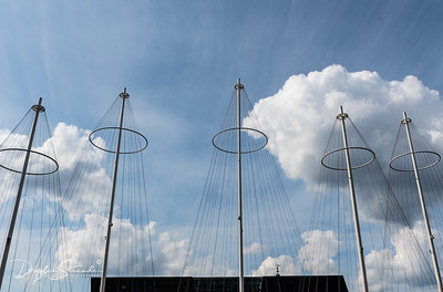 Bridge by Olafur Eliasson is designed to resemble ship masts