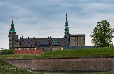 Kronborg Castle, setting for Shakespeare's Hamlet