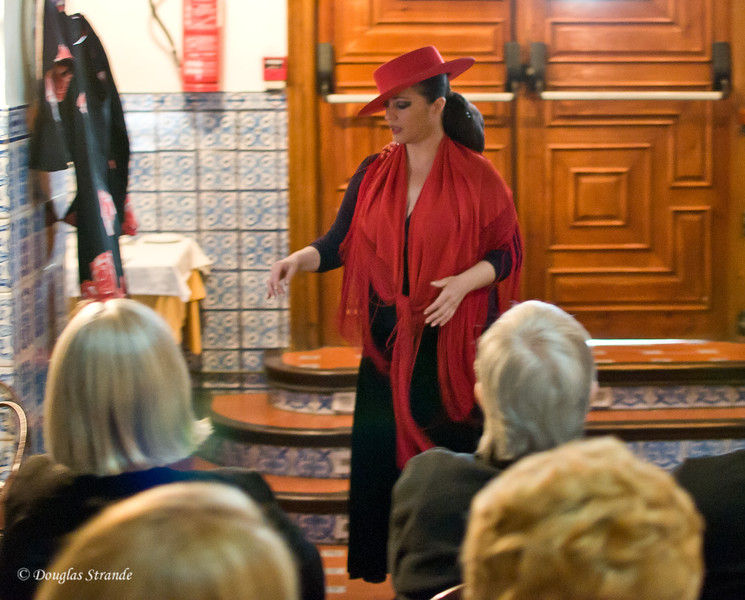 Tue 3/15 in Seville: A flamenco performer answers our questions