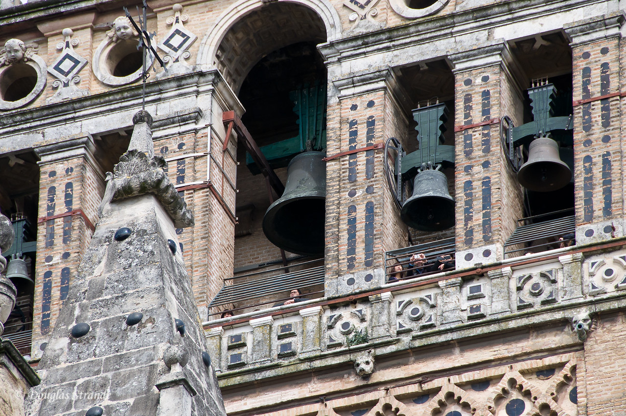 Tue 3/15 in Seville: Bells on the Cathedral of Seville