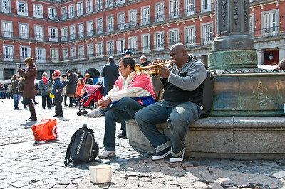Sat 3/05 in Madrid: Plaza Mayor