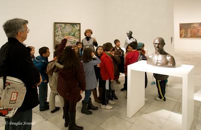 Mon 3/07 in Madrid: Class trip in Reina Sofia museum
