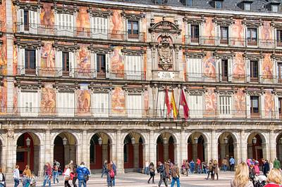 Mon 3/07 in Madrid: Return to Plaza Mayor