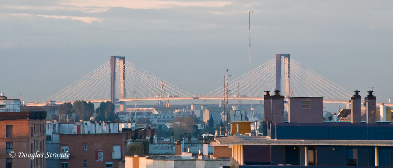 Wed 3/16 in Seville: Sunrise farewell to Seville and to Spain.  We depart for Portugal.