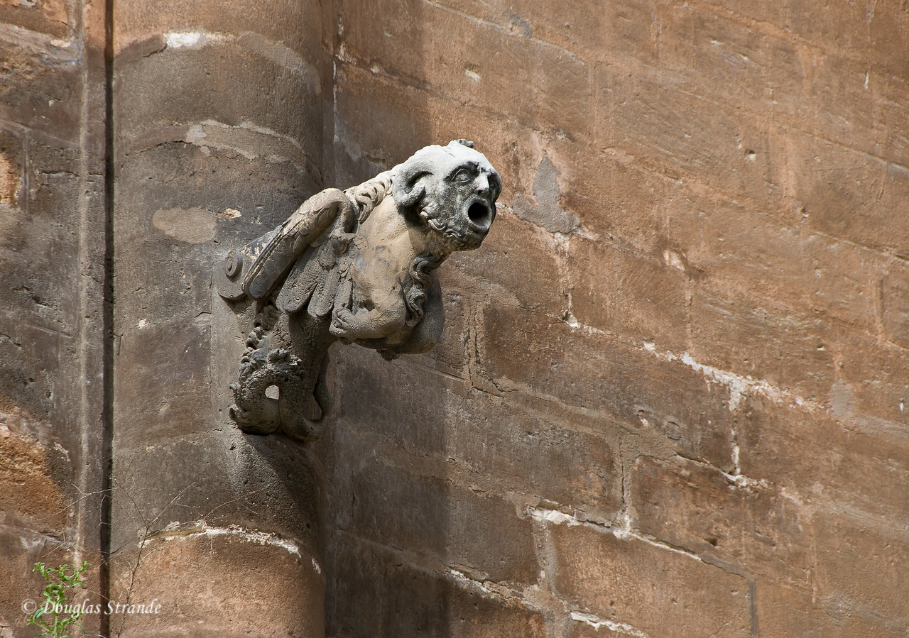 Tue 3/15 in Seville: The Cathedral of Seville has gargoyles