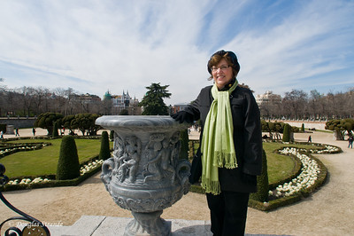 Sun 3/06 in Madrid: Retiro park