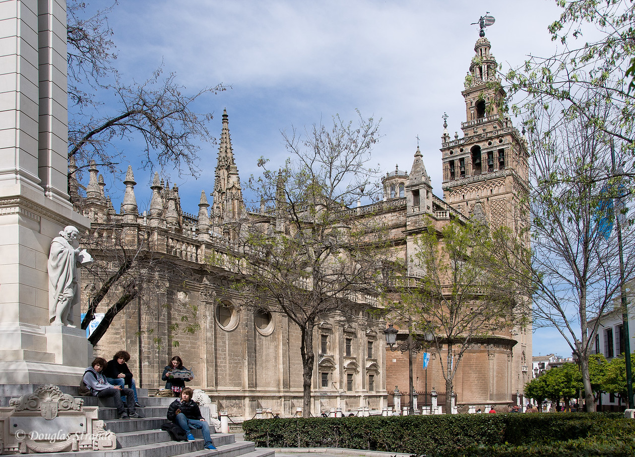 Tue 3/15 in Seville: The Cathedral of Seville