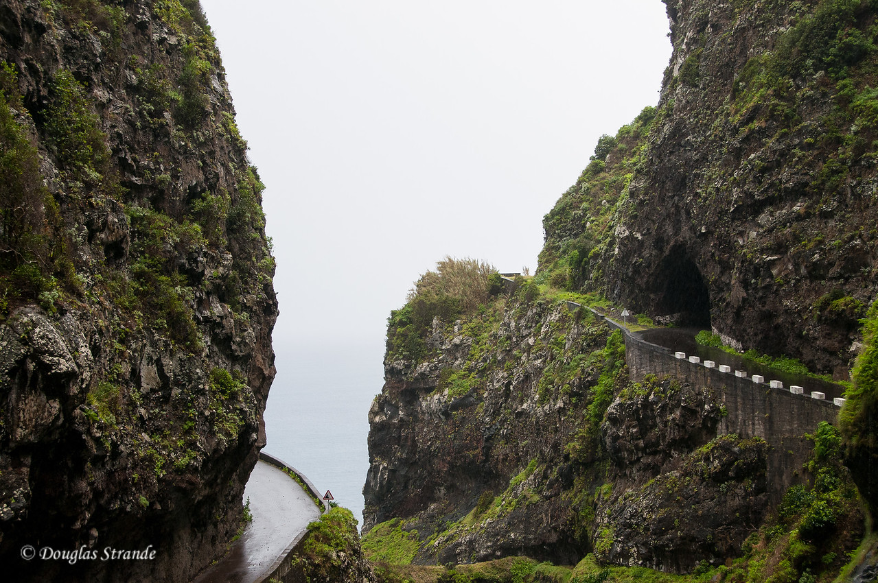 """Island of Madeira - the """"old road"""" was a cliff-hanger"""
