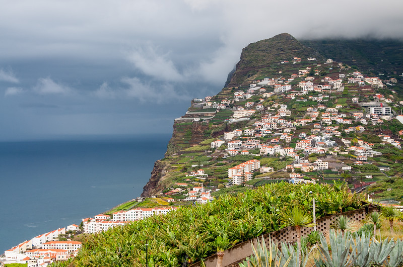 Island of Madeira - view toward the Southwest