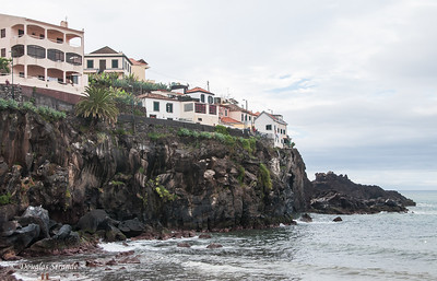 Island of Madeira - Cliff houses near Camara de Lobos