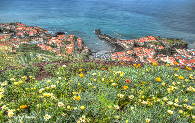 Island of Madeira - looking down on Camara de Lobos