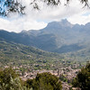 Overlook of Soller, Mallorca nestled in the valley