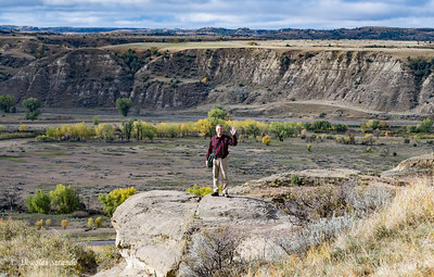 Doug on a Cliff