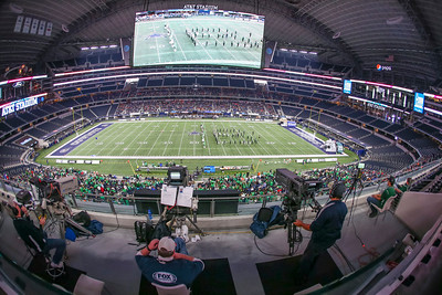 HS Playoff Football; Boling Bulldogs vs Gunter Tigers; AT&T Stadium; Dallas, Texas; Dec. 15, 2016
