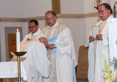 Fr. Bill Bartniski 50th Anniversary of Ordination; Holy Rosary Catholic Church; Rosenberg, TX; May 28, 2017.