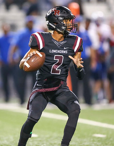 HS Football; George Ranch Longhorns vs Dickinson Gators; Traylor Stadium; Rosenberg, Texas; Sept. 2, 2016. Copyright Taormina Photography.