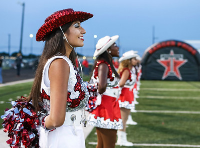 HS Football; Lamar Mustangs vs B.F. Terry Rangers; Traylor Stadium; Rosenberg, Texas; Sept. 30, 2016. Copyright Taormina Photography.