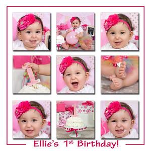 Ellie's birhtday collage