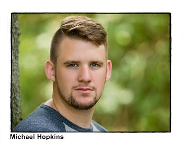 Mike Hopkins framed #3