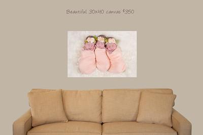 30x40 wall canvas