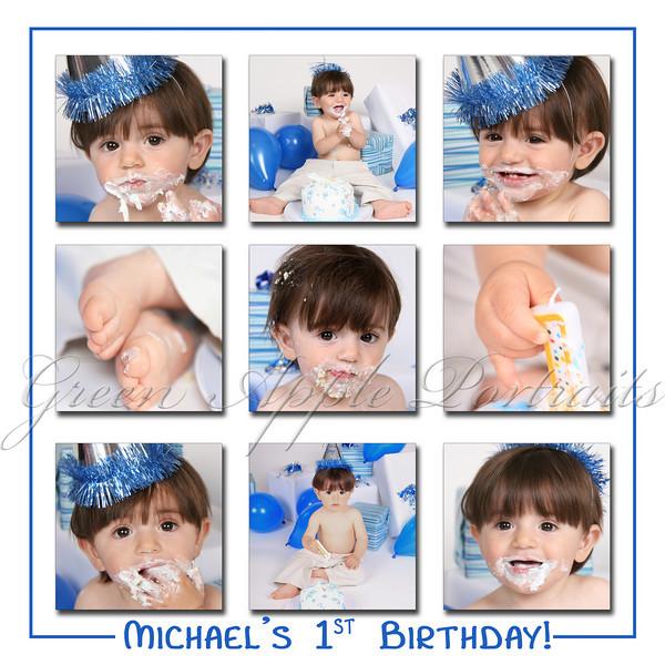 Michael's 1st Birthday