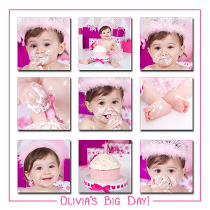 Olivia's Bday collage