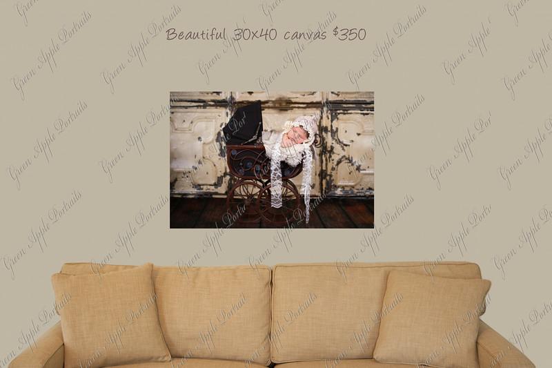 30x40 canvas
