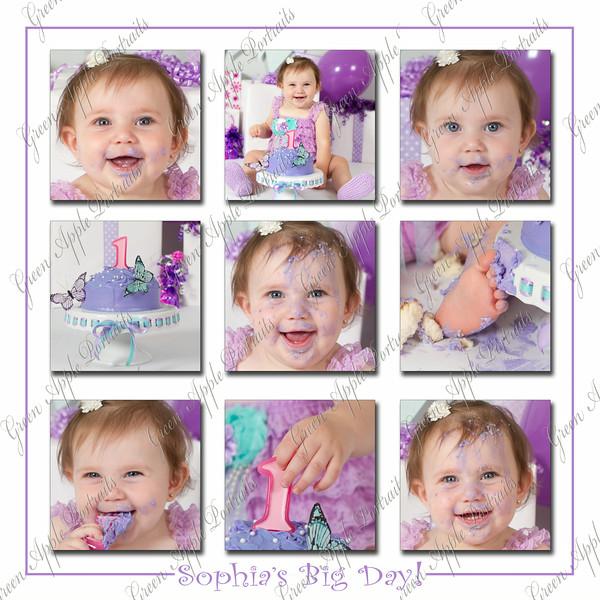 Sophia's collage