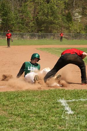 Baseball vs JCA / Senior Night 2014