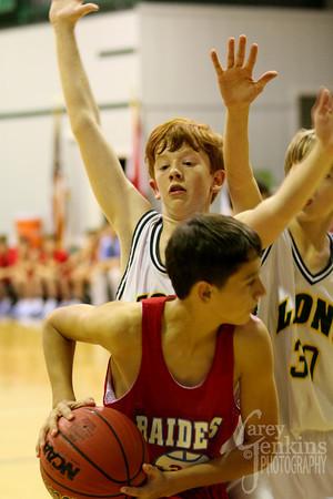 JV Basketball vs Pleasant Valley 111810