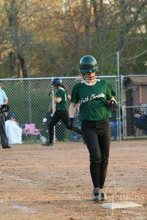 Softball vs Ranburne 4-1-13