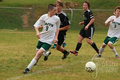 Varsity Soccer vs. Cherokee County 2012