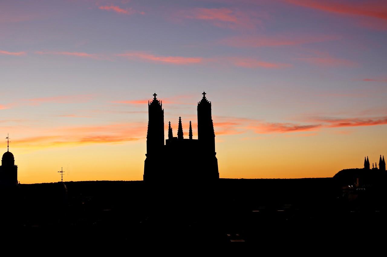 Jewel Tower sunset