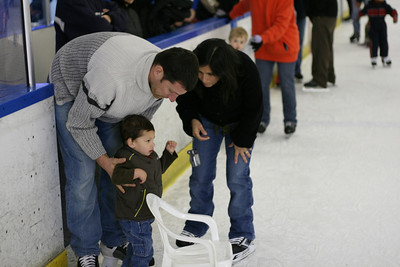 i wish i had a chair on the ice for ME