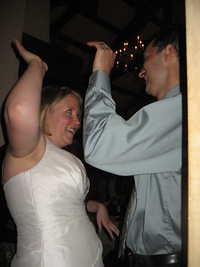 the bride should always get a high five
