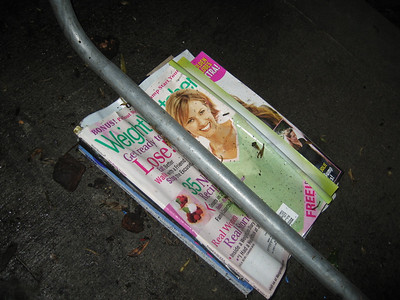 the best use i've seen for weight watcher magazine