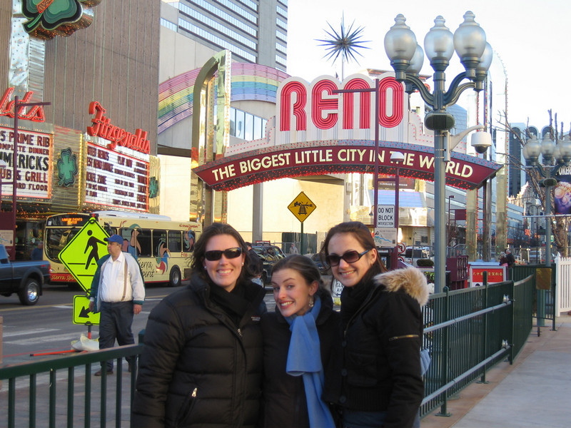 the girls hit reno
