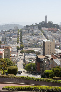 from the top of lombard
