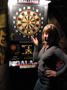 britt played darts