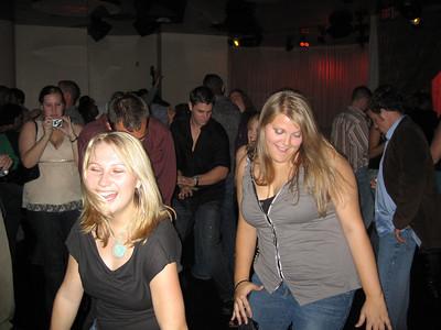 looks like line dancing