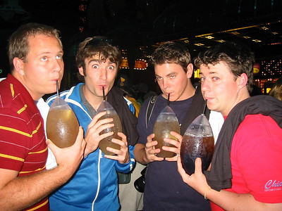 for drinking footballs we all look kind of girly