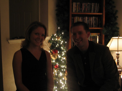 happy holidays from britt and dan