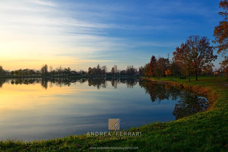 Sunset at the lake 6