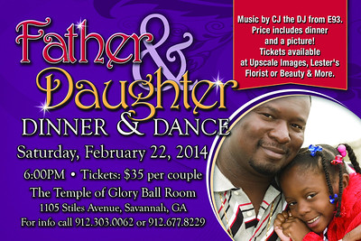 Father & Daughter Dance 6x4-fr
